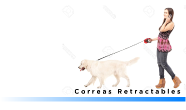 Correas Retractables para perros